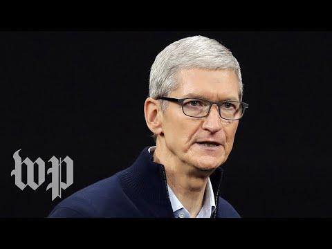 Apple Inc. CEO Tim Cook talks Apple, Facebook and Amazon