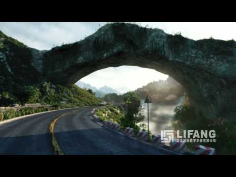 Lifang 3D CGI Visualization of Architectural Landscapes and Nature