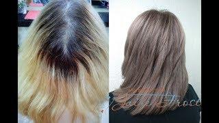 Затемнение блонда | Окрашивание волос в русый цвет