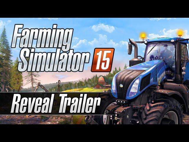 Farming Simulator 15 (видео)