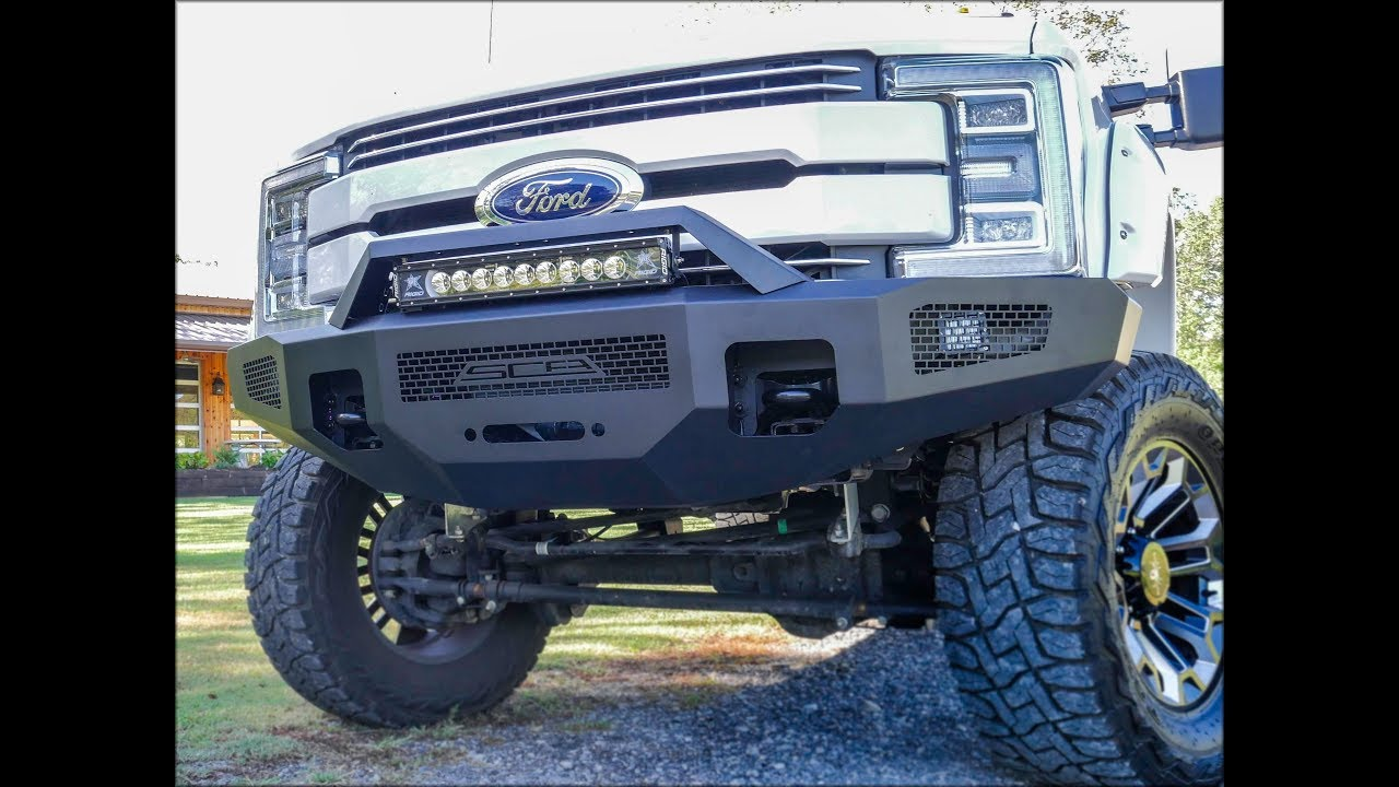 hight resolution of jaw dropping new ford super duty bumper