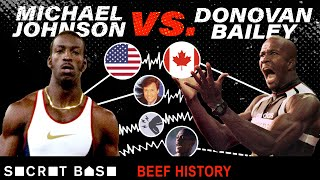 Download Even a $1 million race couldn't end the Michael Johnson and Donovan Bailey beef Mp3 and Videos