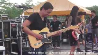 Bodyslam : Sound Check M-150 Power Concert @ Suphanburi