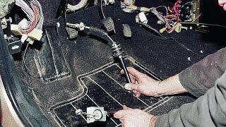 Правильно снимаем и регулируем трос сцепления. ВАЗ 2110, 2112