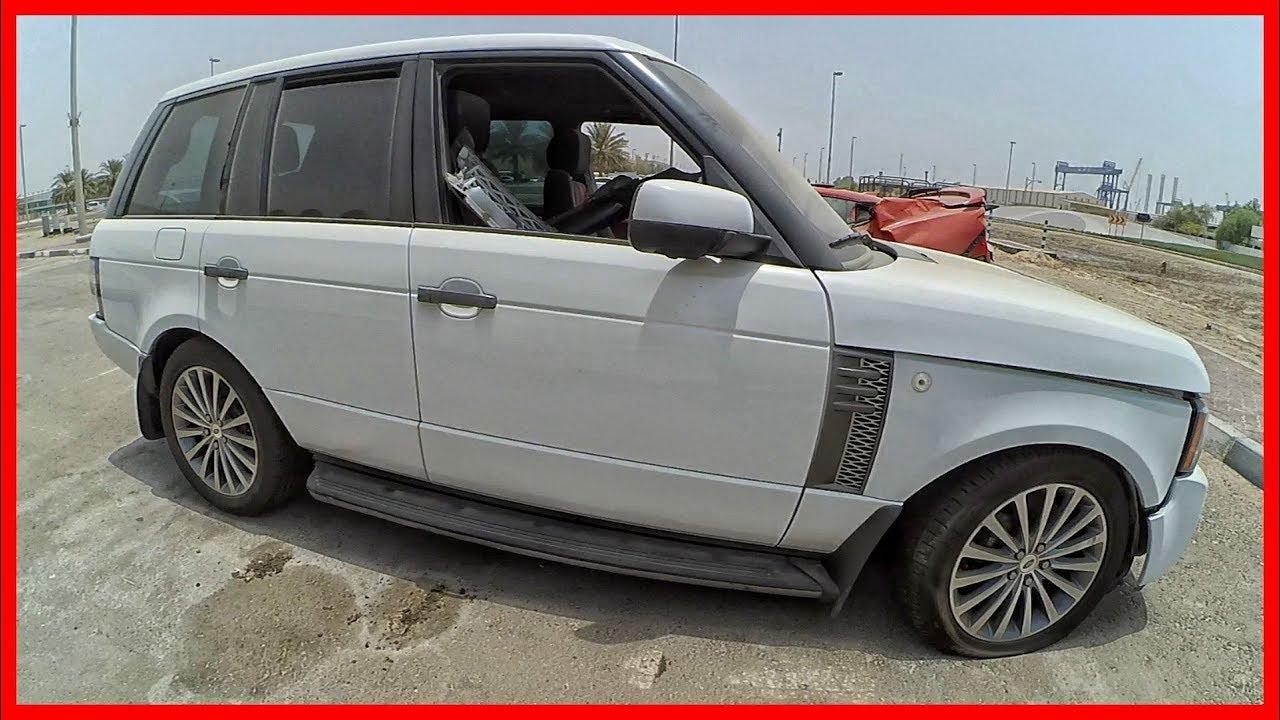 Abandoned Range Rover Abandoned Luxury Cars In Dubai Youtube