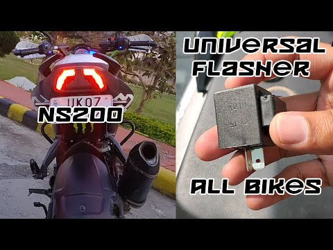 Universal Tail Light Flasher For All Bikes | NS200 Mods