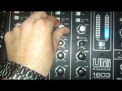 Mixer Urei 1603 by Soundcraft - YouTube