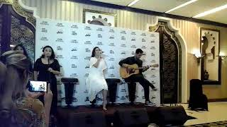 LIVE PERFORMANCE RAISA DI LAUNCHING SINGLE DAN VIDEO CLIP TERBARU
