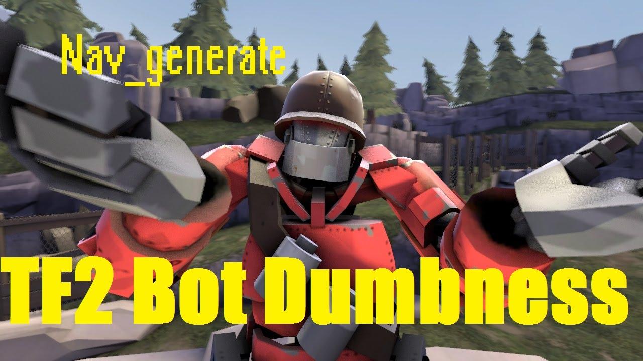 Nav_Generate TF2 Bot Dumbness! - YouTube