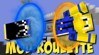 PORTAL GUNS beim DROPPER (Minecraft Mod Roulette 2 #3) [Deutsch]