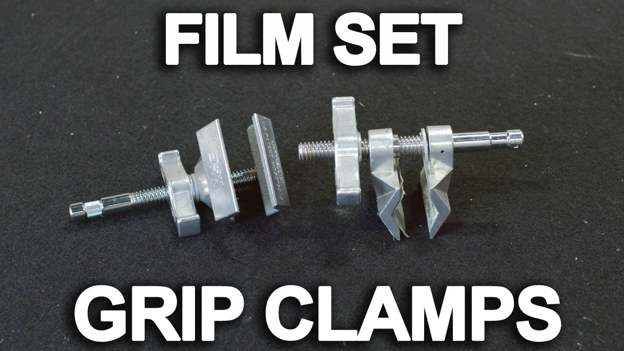 Grip Clamp Basics for Film and Video Production, Ep.36 Tutorial