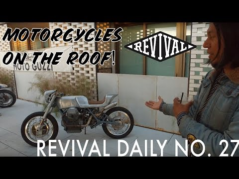 Motorcycles on the Roof! // Revival Daily No. 27