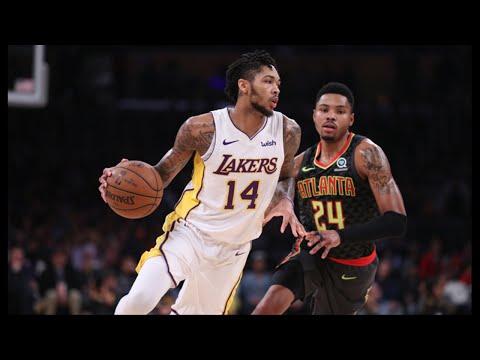 Pace-Pushing Lakers Rush Past Hawks