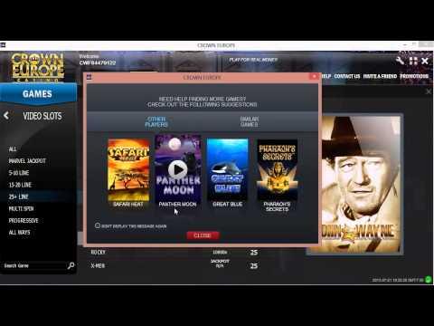 Crown Europe Casino - Best Online Casino South Africa