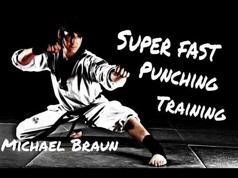 Michael Braun - Super fast punching training