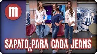 Moda: sapato ideal para cada tipo de calça jeans - Mulheres (09/08/17)