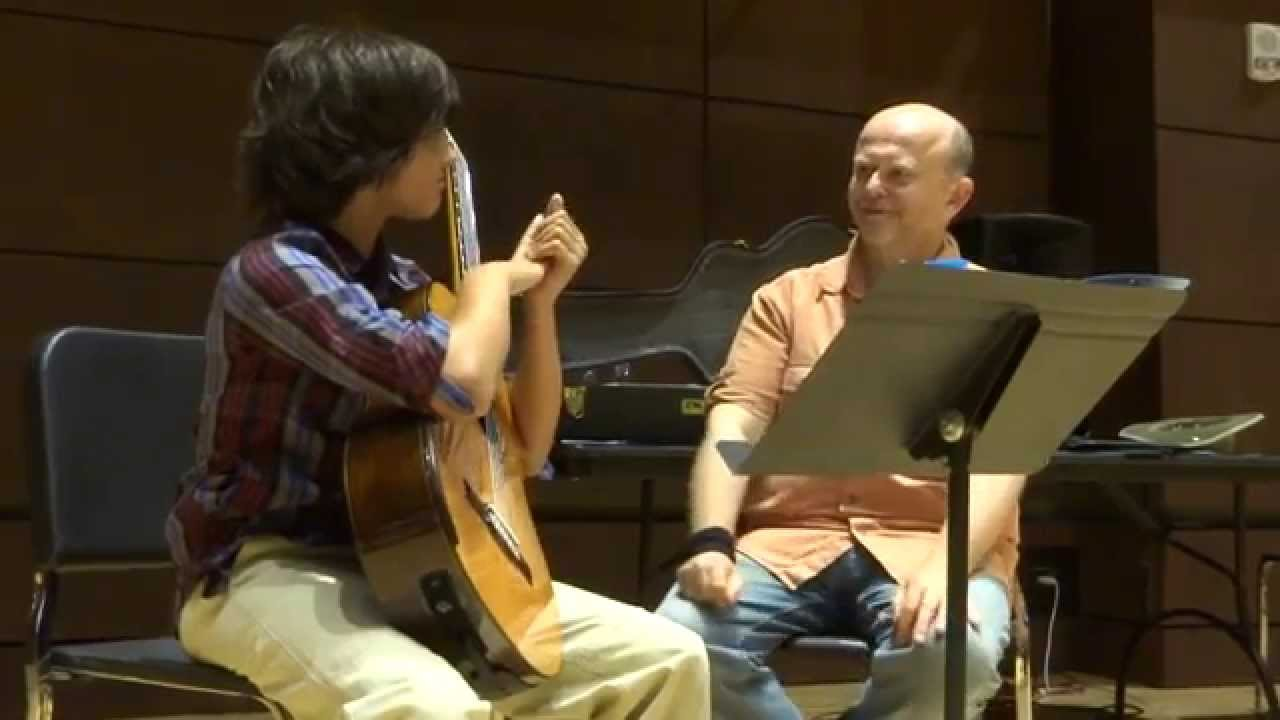 Guitar Masterclass on Rubato, Accent, RH Attack--Pavel Steidl