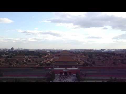 Skyline Beijing en de Verboden Stad