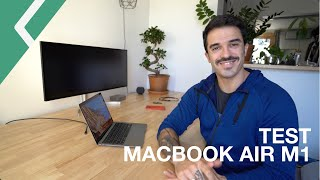 Mon test complet du MacBook Air M1 2020