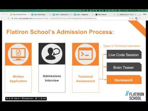 How To Ace The Flatiron School (or any Coding Bootcamp) Admissions Process
