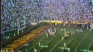 1987 Rose Bowl - Super Bowl Coach Jim Harbaugh at Michigan 2 of 2