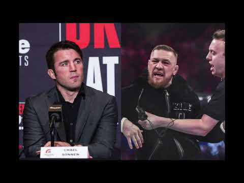 Chanel Sonnen ANGRY at Conor McGregor after Storming Cage at Bellator 187