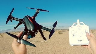 MJX RC Bugs 3 Low Cost Brushless Motor Camera Drone Flight Test Review