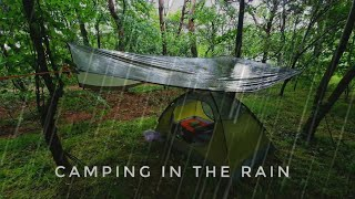 Camping in the Rąin | Relaxing and Sleeping with Rain Sounds