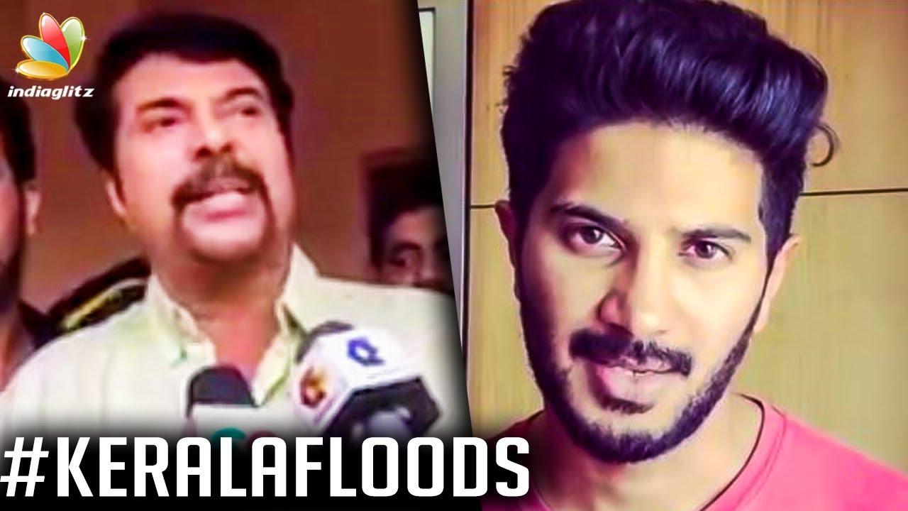 ലൈവിൽ എത്തി ദുൽഖർ: ക്യാപിൽ എത്തി മമ്മൂക്ക | Dulquer Salman FB live | Mammootty | Kerala Flood