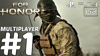 FOR HONOR - MULTIPLAYER Gameplay PART 1 Launch Day LIVE (Nobushi Class) Broken Servers