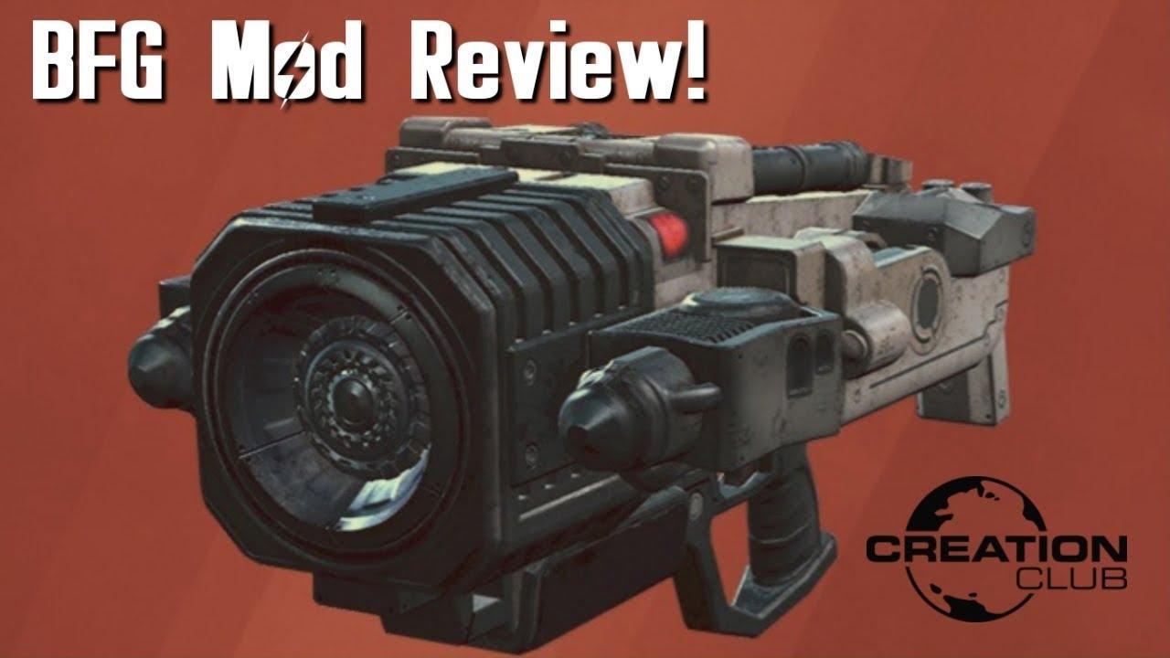 Fallout 4 Doom BFG Creation Club mod review! - Hariox Blog
