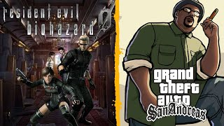 Resident Evil Zero - Juego completo + Grand Theft Auto: San Andreas  - En Español