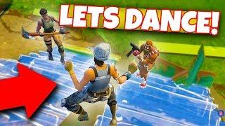 "Fortnite DANCE SQUADS!! ""Last one to dance WINS!!"
