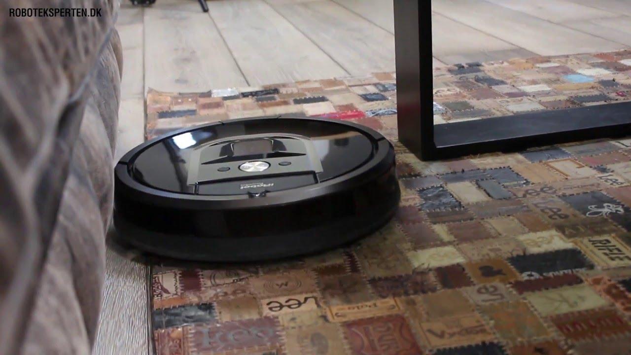 iRobot Roomba 980 robotstøvsuger test - YouTube
