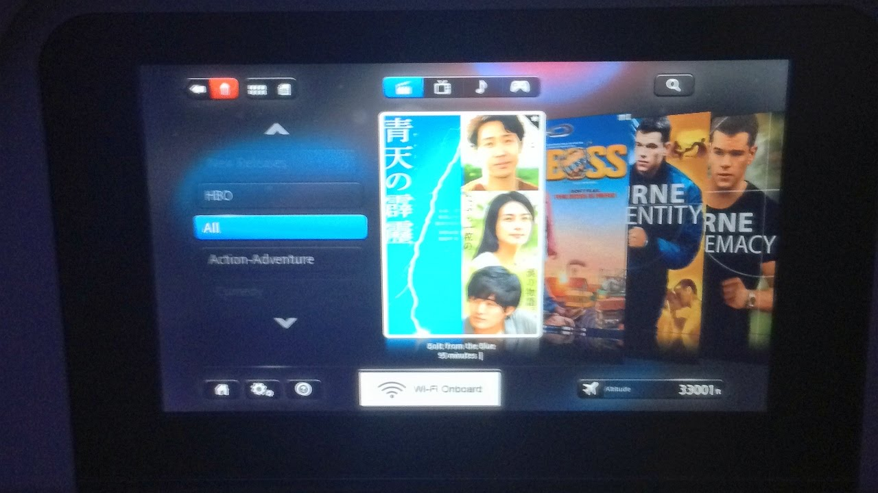Inflight Entertainment American Airlines Boeing 777-300ER