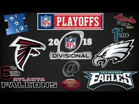 Image result for falcons eagles playoffs
