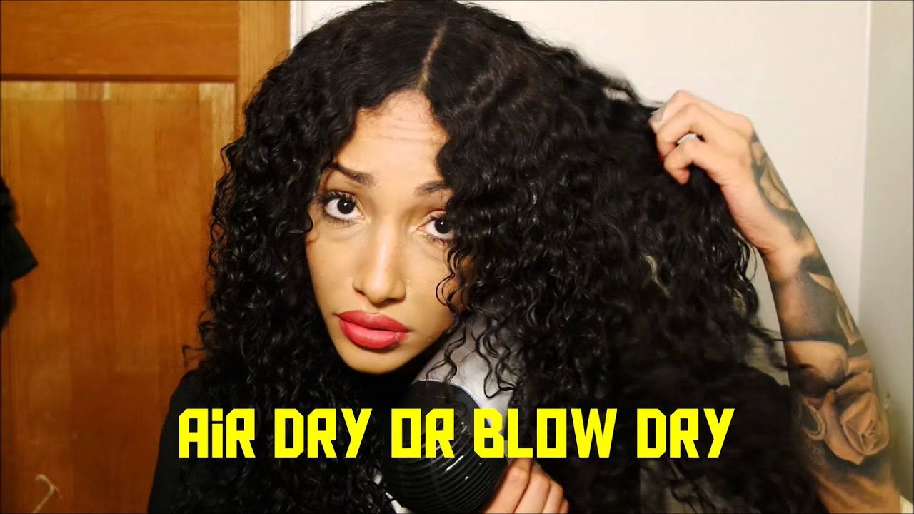 Brazilian Deep Wave Hair Daily Routine Youtube