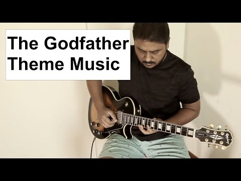 The Godfather | Theme Music | Electric Guitar | Joydeep Bose