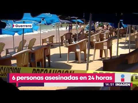 6 personas asesinadas en Acapulco | Noticias con Yuriria Sierra