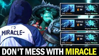 Don't Mess with MIRACLE — Spamming Storm in Ranked Game Dota2
