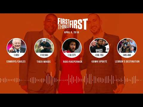 First Things First audio podcast(4.5.18) Cris Carter, Nick Wright, Jenna Wolfe | FIRST THINGS FIRST