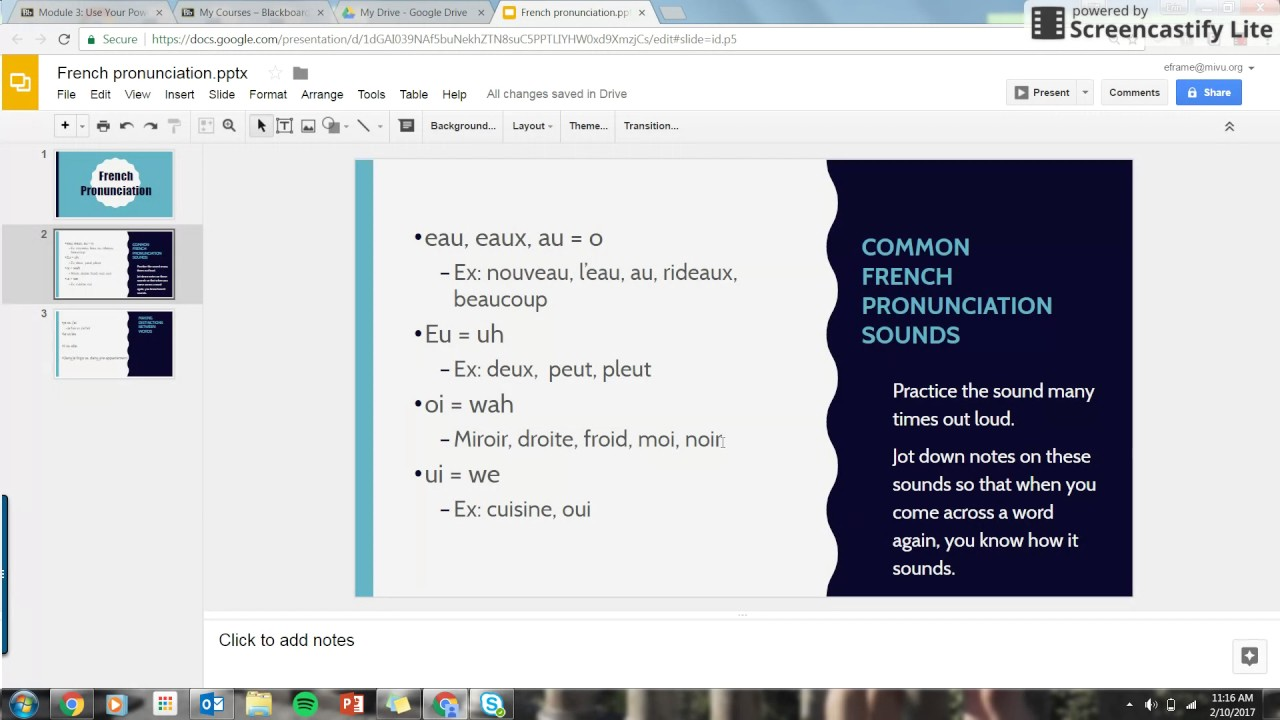 Common French Sounds
