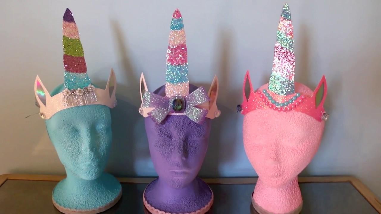 Paper Easy Unicorn Headband Diy Youtube