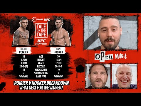 Poirier V Hooker Full Preview: Should The Winner Call Out Conor McGregor? | Open Mat With Dan Hardy