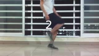 Как танцеват надо видео урок ( уроки танцы)shuffle dance part 2