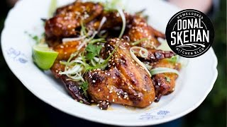 THE BEST Spicy Sticky Chicken Wings!