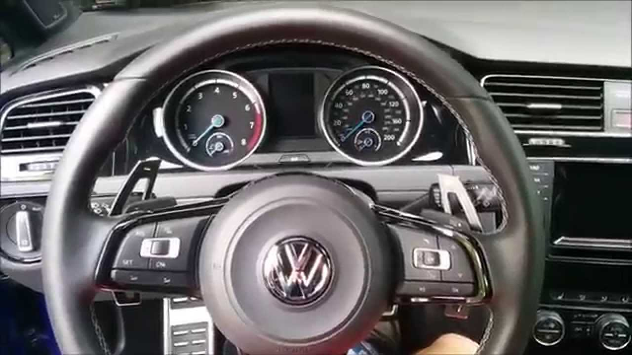 Golf R Vlog 5 Paddle Shifter Extensions Youtube
