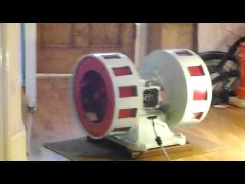 Air raid siren - Blitz and Civil Defense full speed indoors - insane