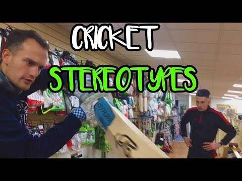 Cricket Stereotypes: The Shopper