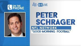 """NFL Network's Peter Schrager Talks """"Danny Dimes"""" Nickname with Rich Eisen 